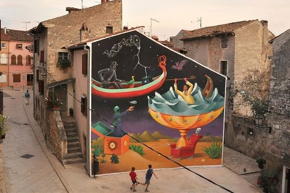 Espacios Publicos Que A Traves Del Arte Dan Un Mensaje Politico