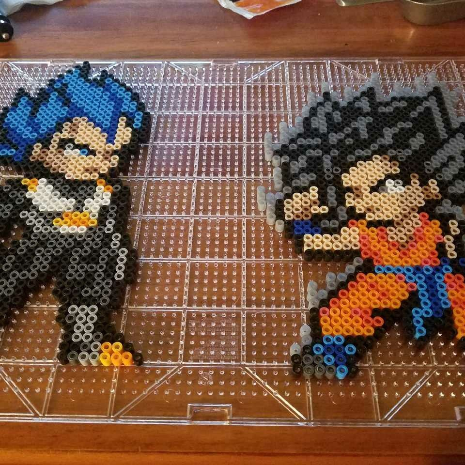 Dragon Ball Super Vegeta Ssjgss Goku Ultra Instinct Perler