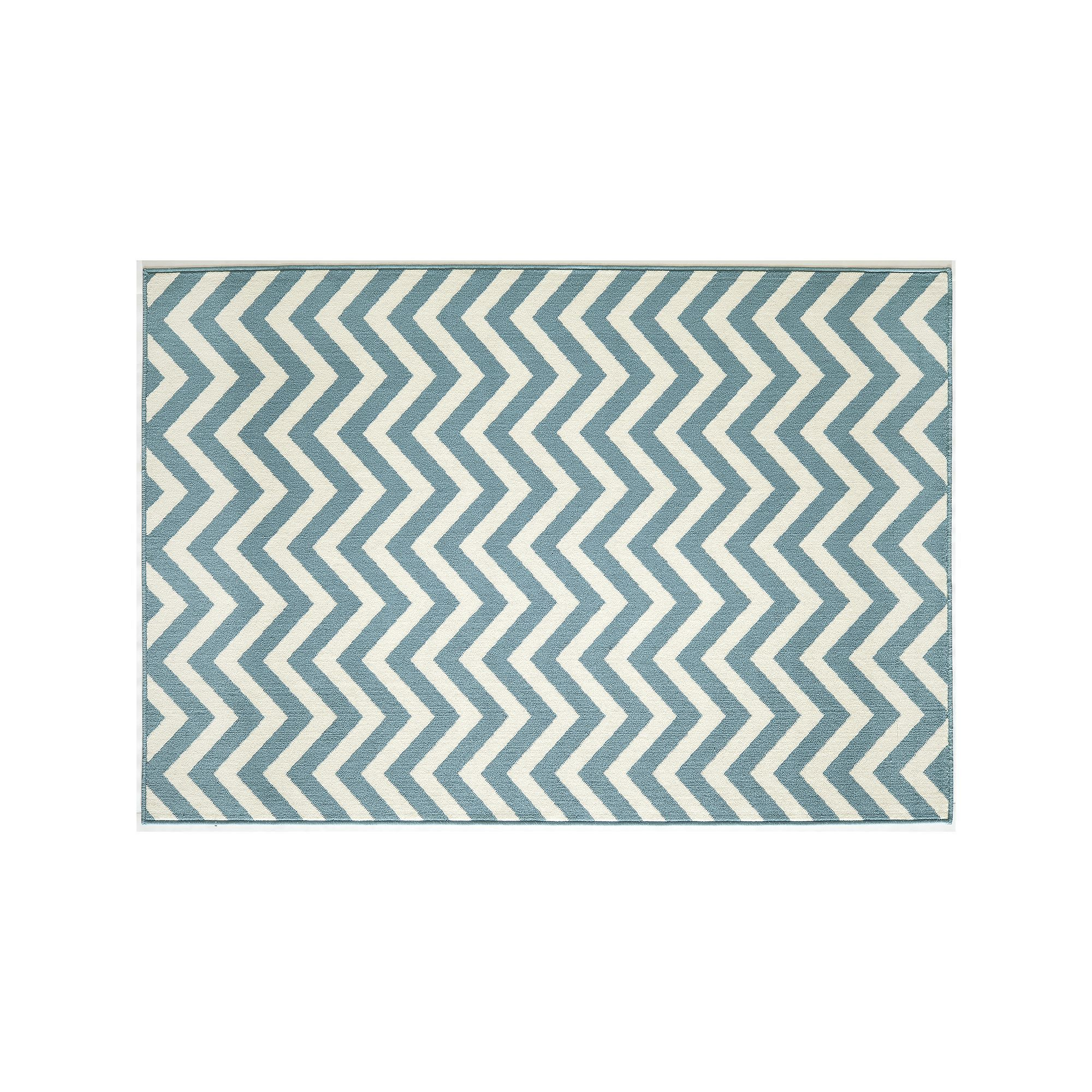 Momeni Baja Chevron Indoor Outdoor Rug, Light Blue #OutdoorRugs ...