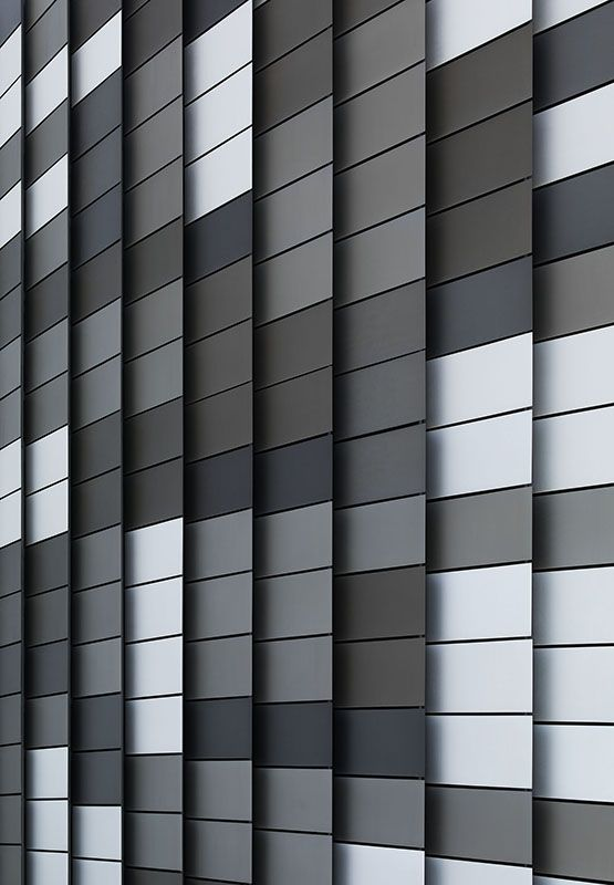 from a series of photos of facades... Docklands, Melbourne, 2014, 180 x 125 cm (71 x 49 1/4 inches)  http://www.rolandfischer.com/facades/