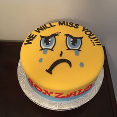 Going Away Cake Ideas 1000 Ideas About Going Away Cakes On Pinterest Farewell Cake Cakes Going Away Cakes Going Away Parties Goodbye Party