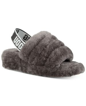 5a65e06681b UGG Women Fluff Yeah Slides in 2019 | Products | Shearling slippers ...