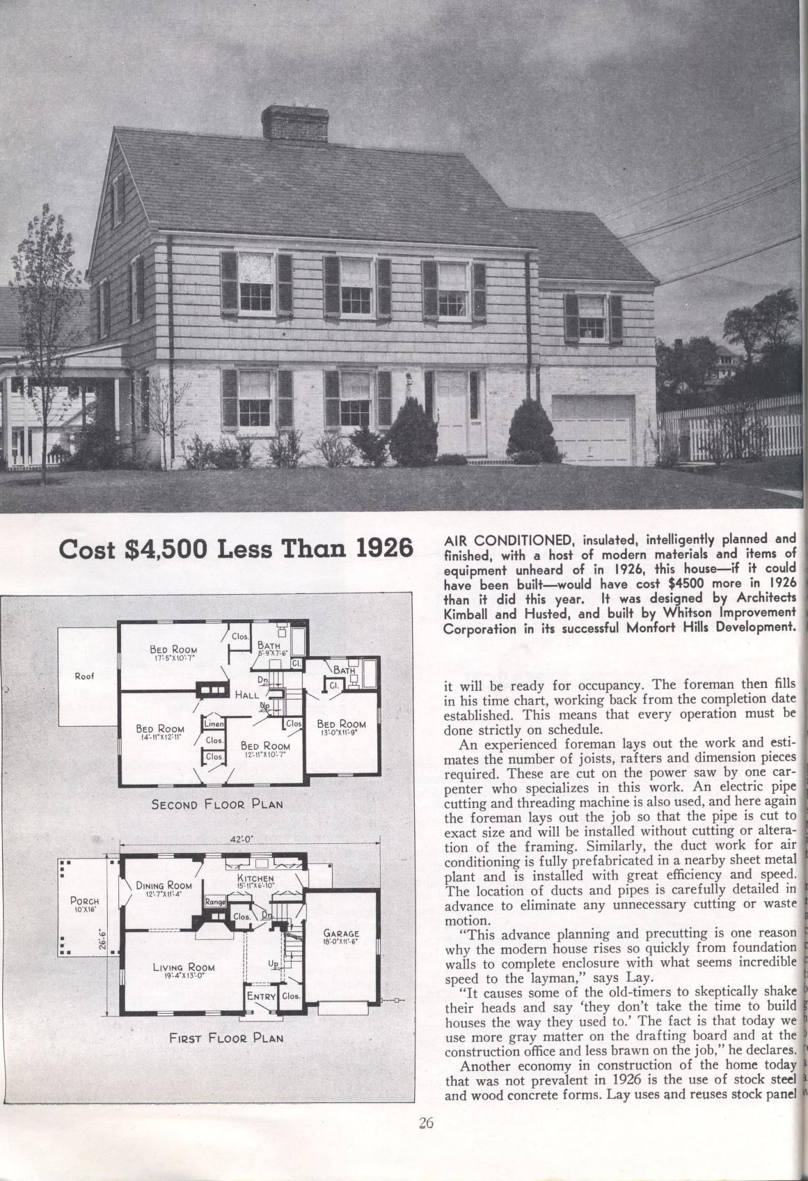 Big Value Homes By American Builder Publication Date 1938 P26 Sims House House Plans Historic Buildings