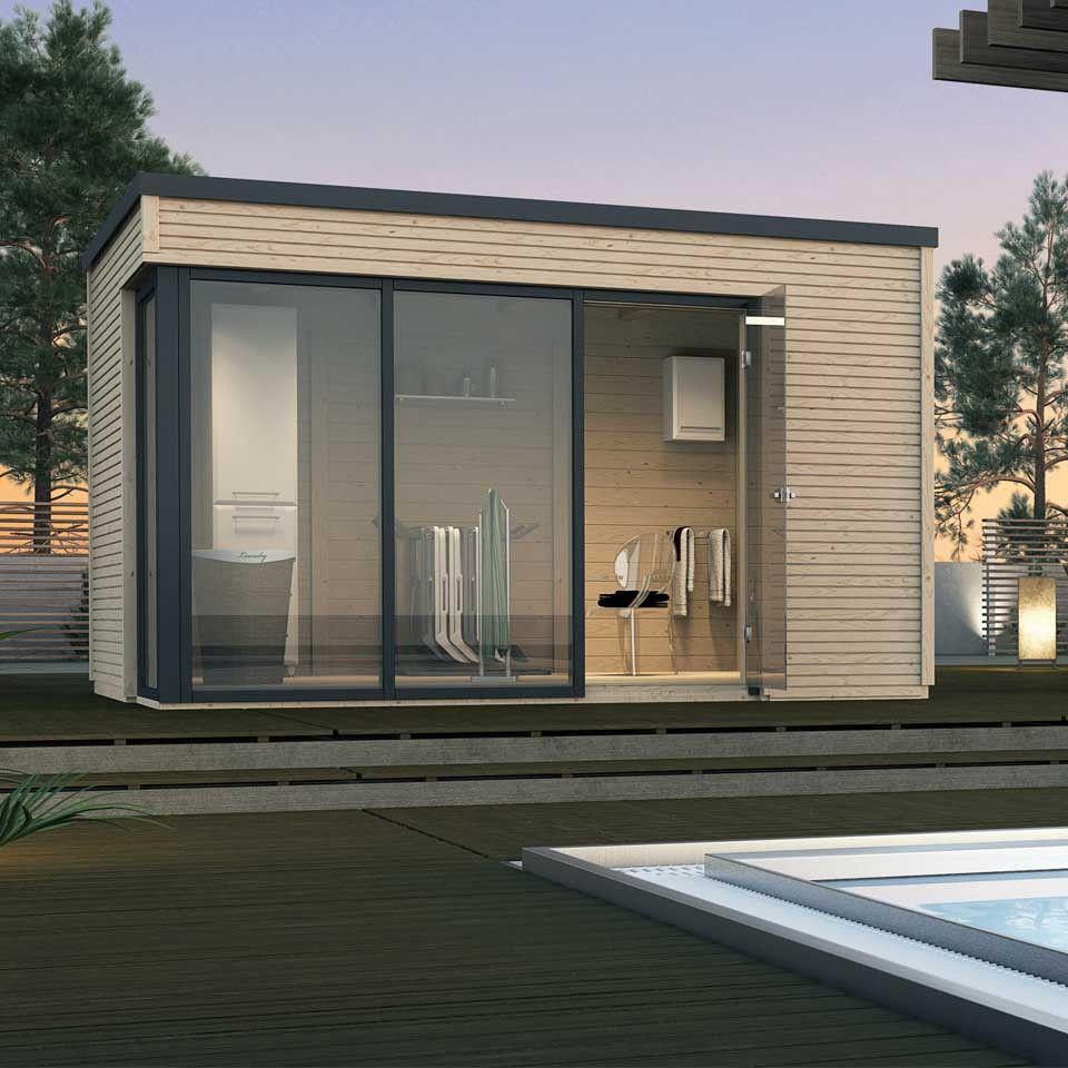 weka 45 mm designhaus cubilis 412 garten pinterest gartenhaus garten und haus. Black Bedroom Furniture Sets. Home Design Ideas
