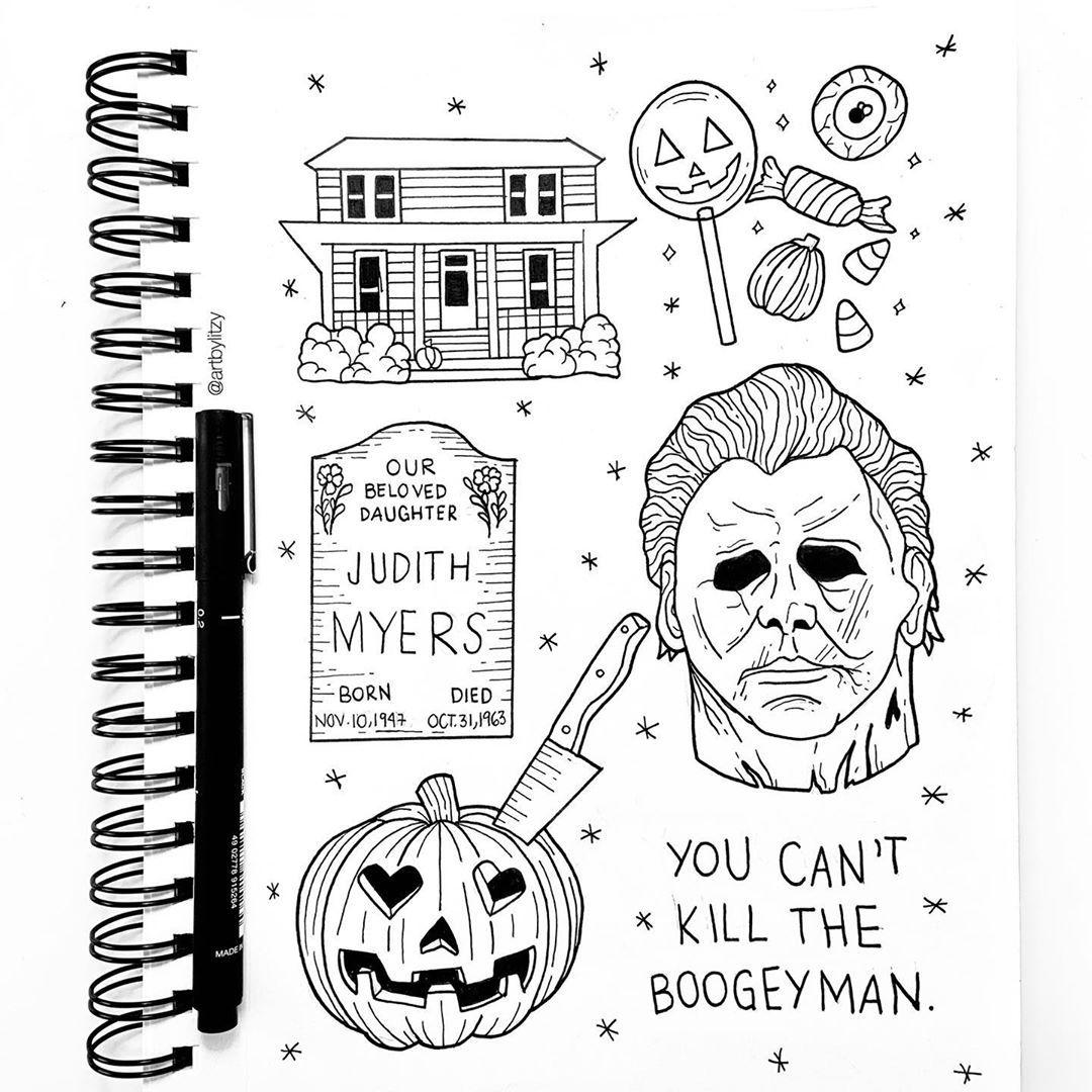 Pin By Dawn Forant On Horror Mashups Horror Movie Tattoos Halloween Tattoos Horror Tattoo