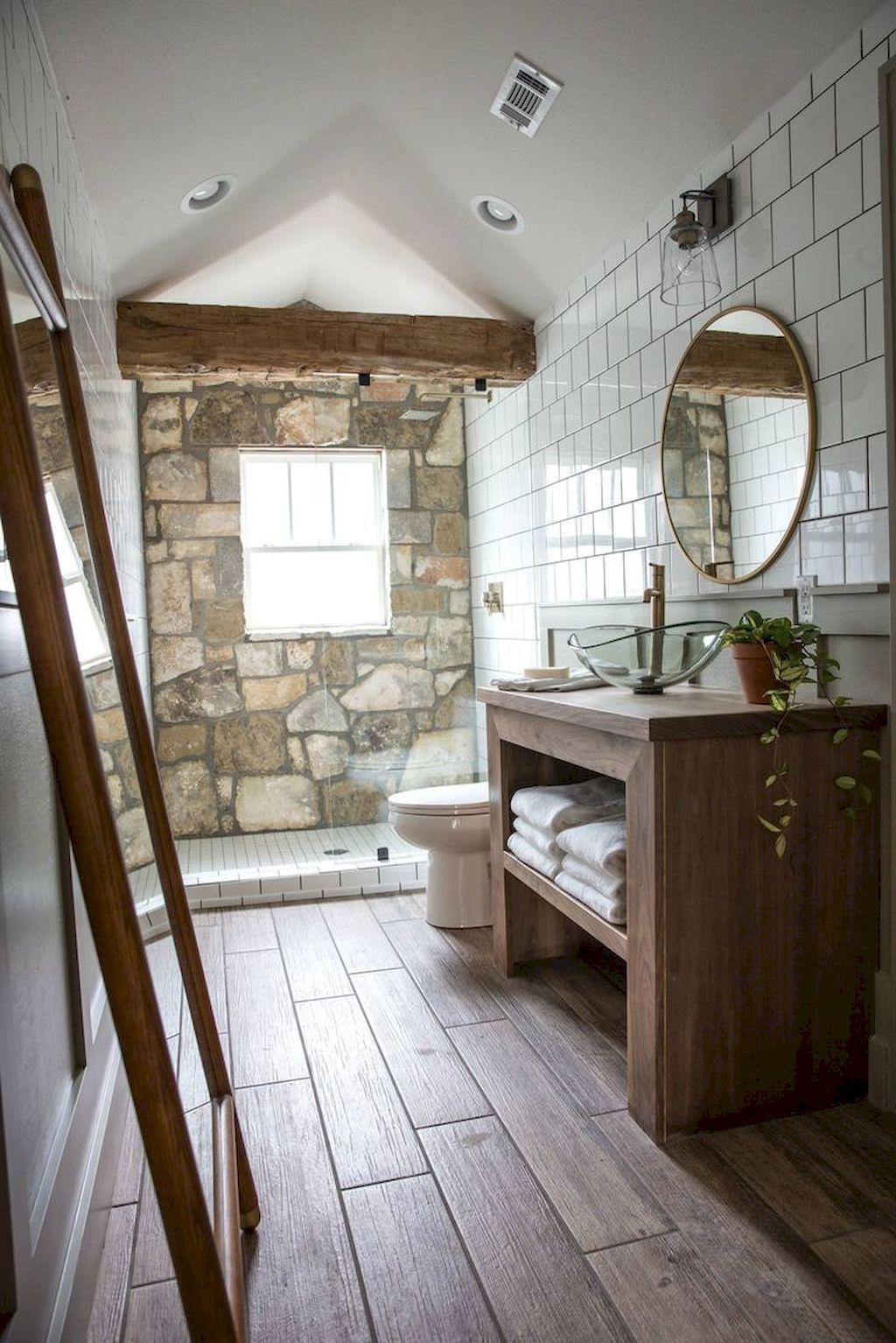 60 Rustic Master Bathroom Remodel Ideas