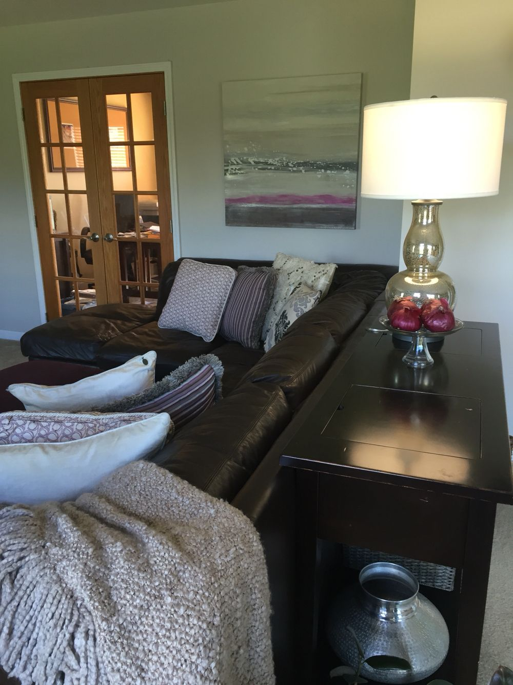 Living Room - complete with red onion color combo! | Cozy ...
