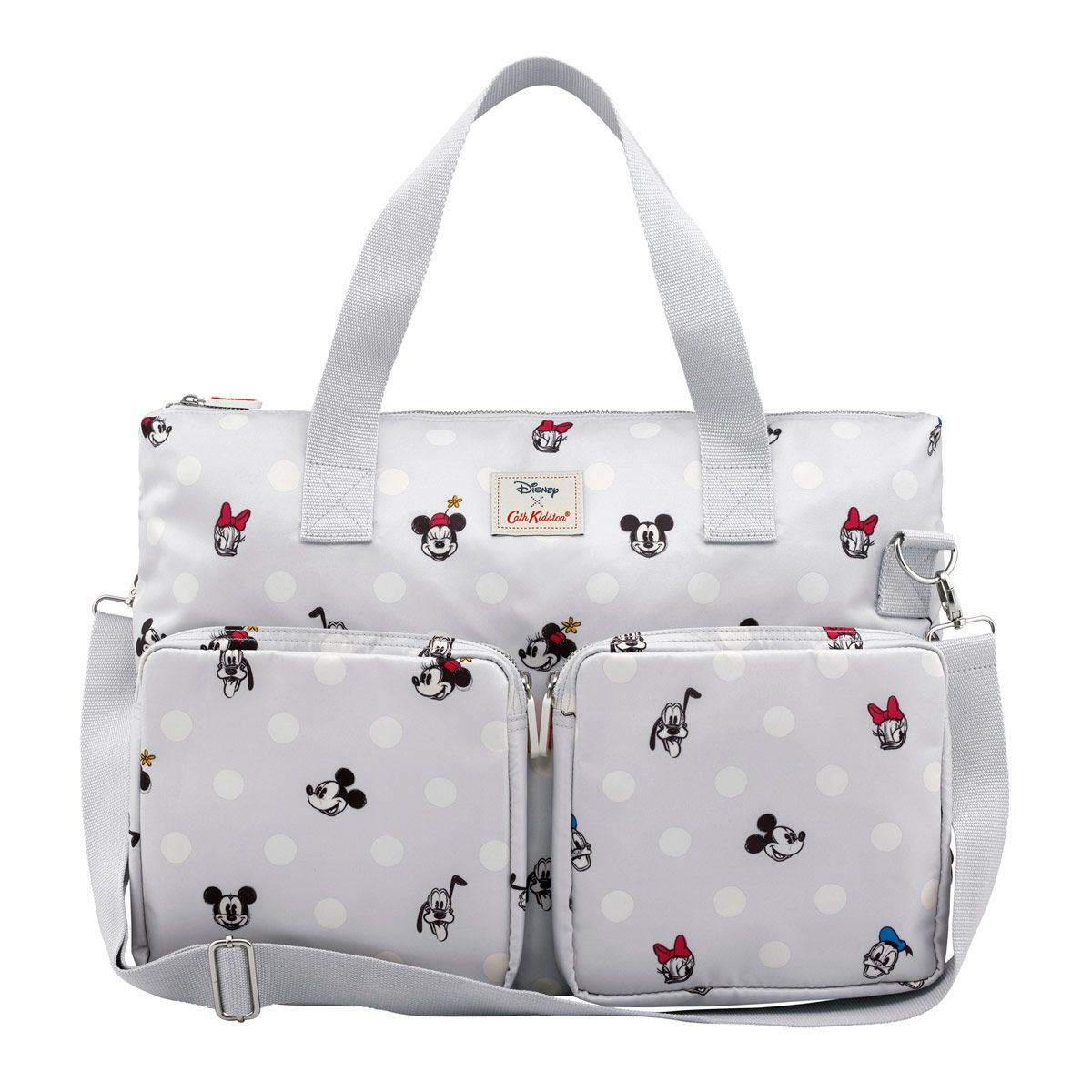 Mickey And Friends Button Spot Everyday Changing Bag Disney Travel Babygo Inc Travelling Pouch Organiser