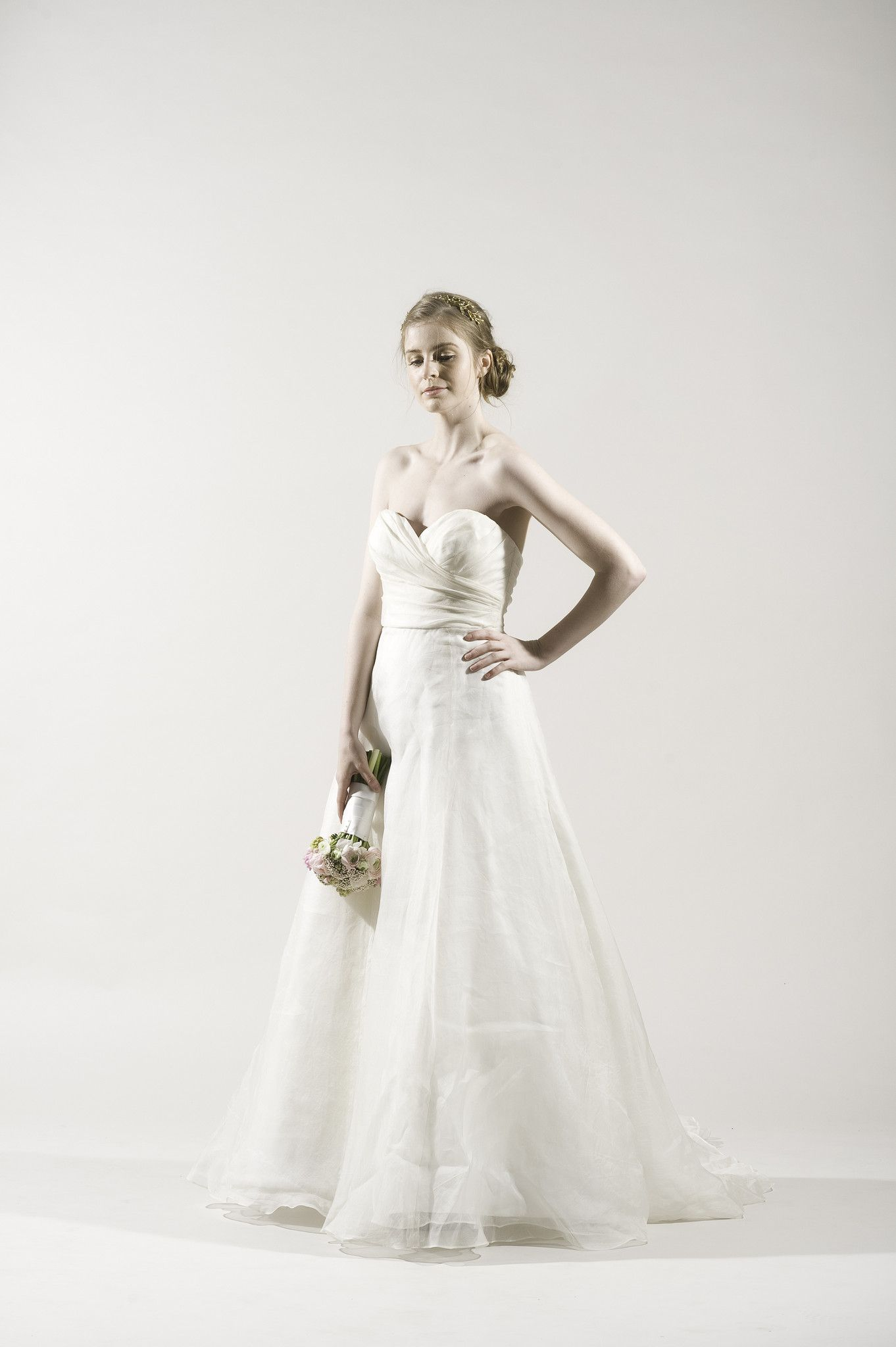 Watters Carmel Silk Organza Gown   Bridal boutique, Gowns and Wedding