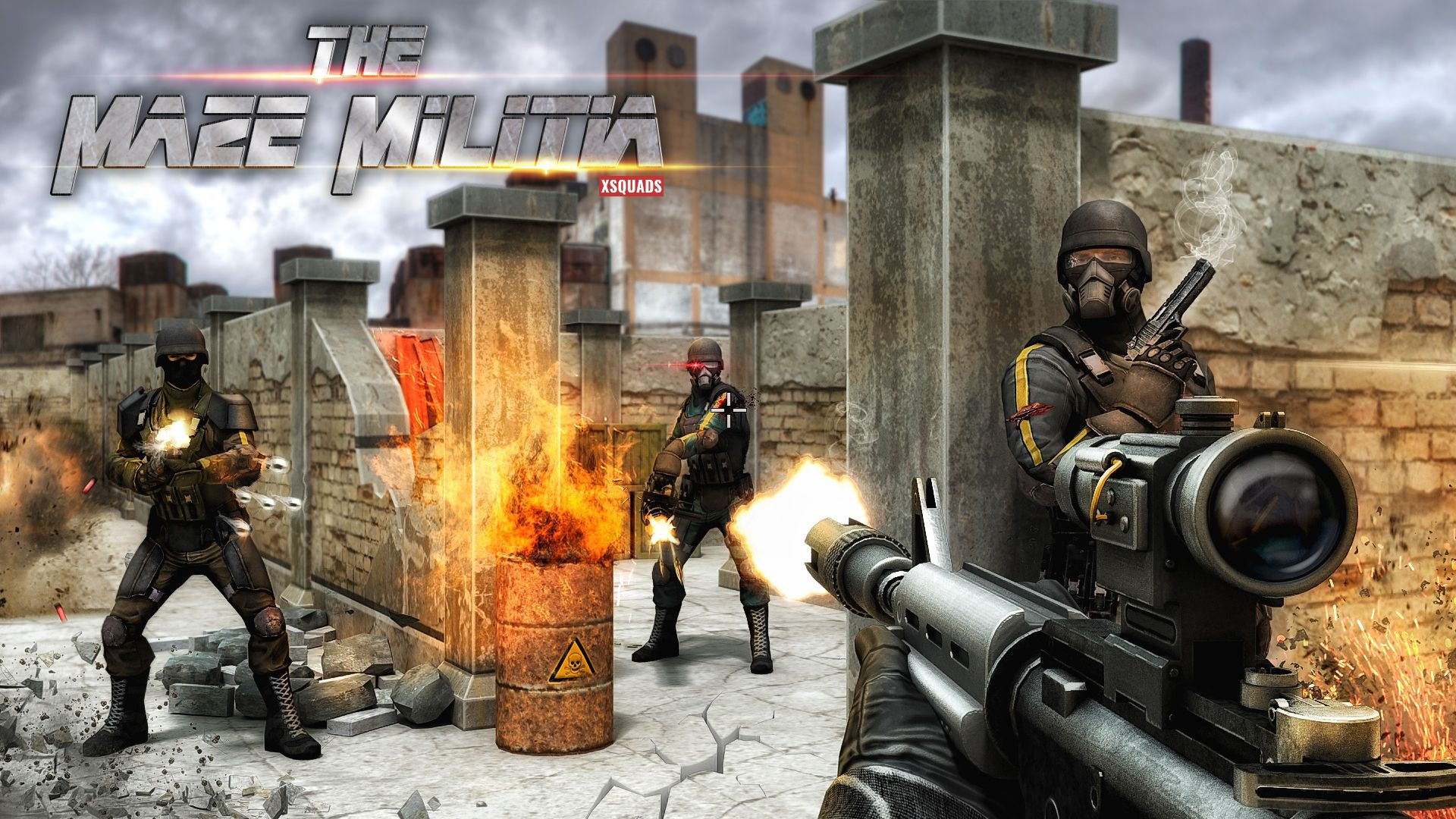 Experience Dynamic Game Play Of Fps Game Fps Games Action Games Shooting Games