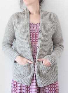 2c454b544fe5 The Farm House Cardigan is worked seamlessly from the bottom up. The  sleeves are worked in the round to the underarm. The body is worked back  and forth in ...