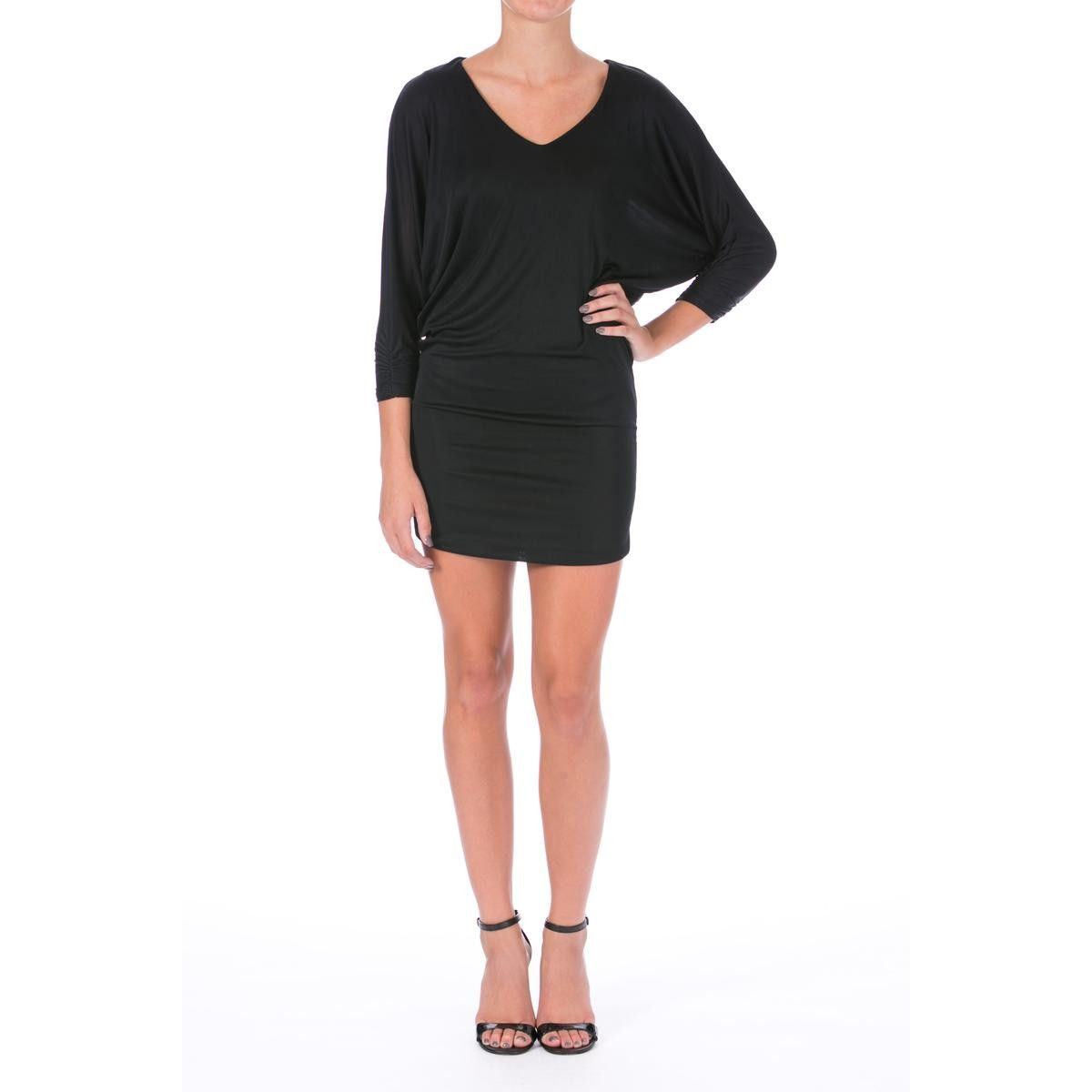 a95defeca4d Guess by Marciano Womens Matte Jersey Dolman Sleeves Cocktail Dress ...