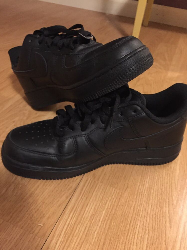 best authentic 81422 3b70b NIKE AIR FORCE 1  07 LOW MEN S SNEAKERS BLACK 315122-001 Size 8 Barely Worn   fashion  clothing  shoes  accessories  mensshoes  athleticshoes (ebay link)