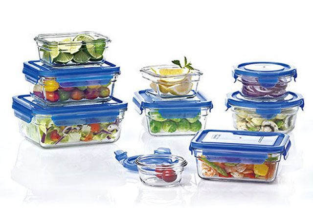 Food Storage ContainersDoubling your recipes means cooking half as often. And durable, sleek, and easy-to-clean containers mean your leftovers will actually be appealing. Ditch the plastic stuff and invest in a set that snap shut (easier to grab and go to work!), stack up nicely in the fridge, go straight into the oven, and last. You can't say that about plastic. Shop 'em in May with all the grandmas trying to outfit their graduating grandkids' kitchens. Fits the bill: Oven safe box set…