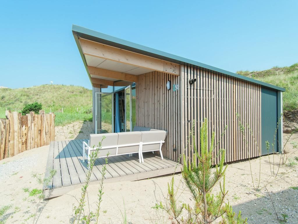 cabin #beach #lodge #tiny #house #vakantiehuis #bloemendaal
