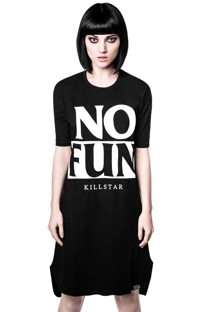 No Fun T Dress B