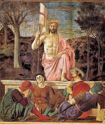 The Piero della Francesca  Resurrezione- Sansepolcro