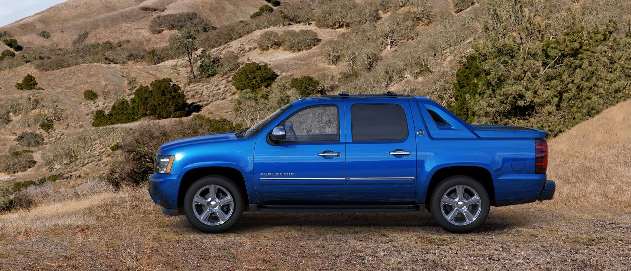 2013 Chevy Avalanche Black Diamond Edition Last Year They Are Are