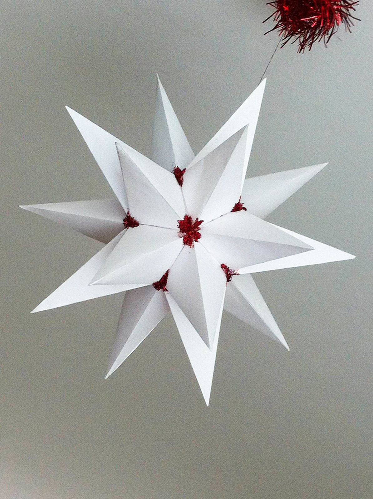 Origami Stella Di Natale.Origami Stelle Per Natale Cose Di Casa Natale Stella Di Natale Idee Di Natale