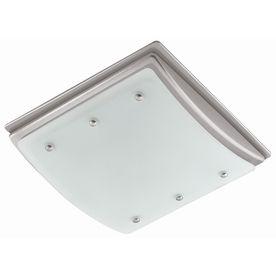Harbor Breeze 2 Sone 100 Cfm Nickel Bathroom Fan With Light2 Sone 100 Cfm Nickel Bathroom Fan