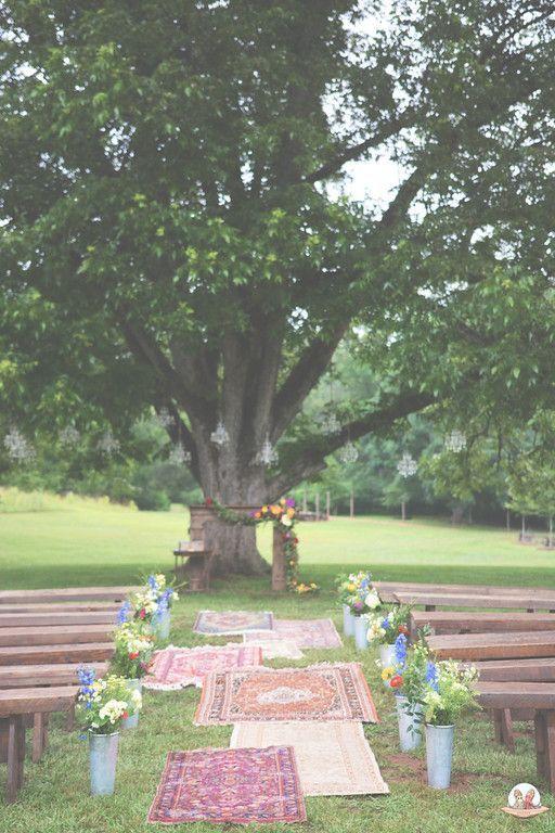 Boho Wedding Boho Wedding Ceremony Ideas Boho Aisle