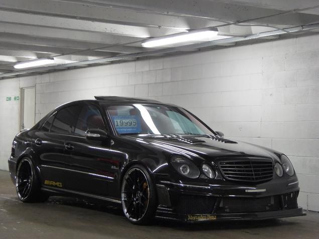 2005 mercedes benz e class 5 4 e55 amg 4dr modified e55k for Mercedes benz e55 amg