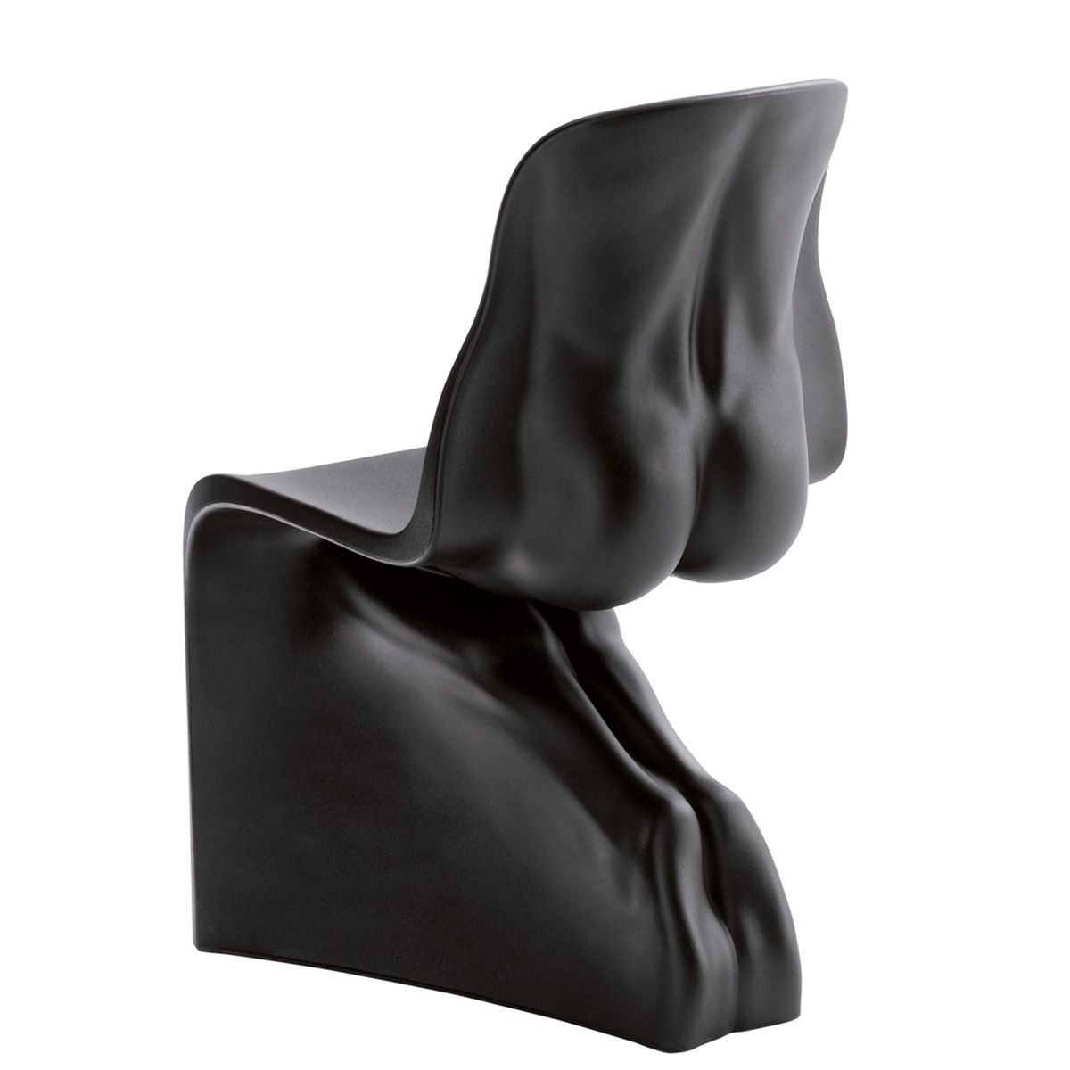 Panton Chair Günstig Him Chair Black Allen Jones | Stühle, Panton Chair, Schwarz