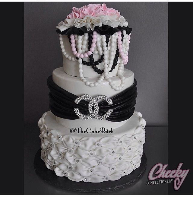 Chanel Nail Polish Cake: Chanel Cake, Birthday Cake