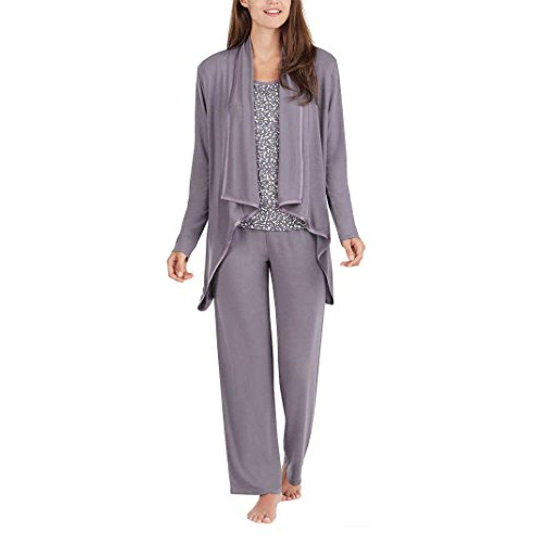 Carole Hochman Midnight Ladies/' 3-Piece Pajama Set