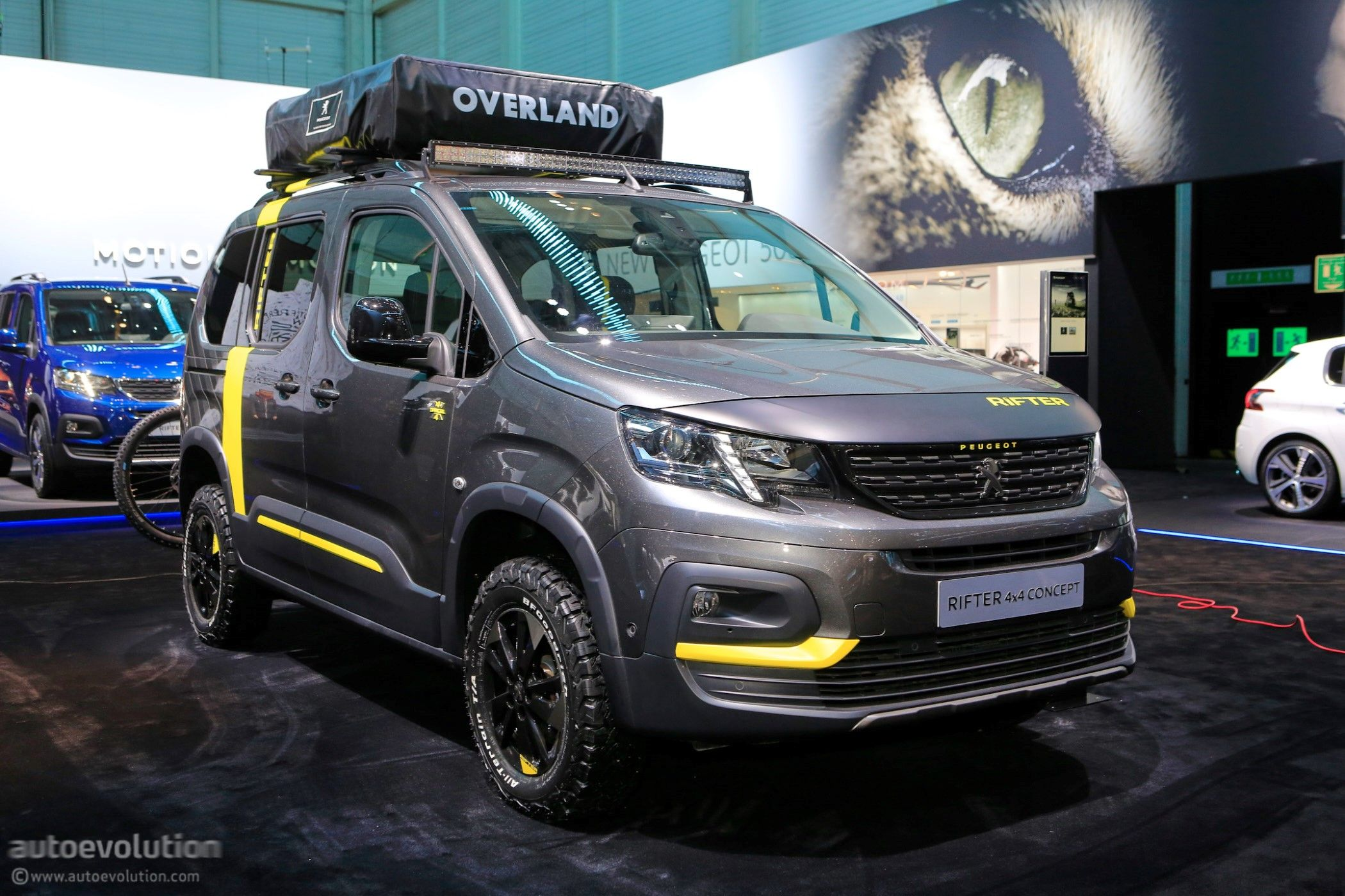 Peugeot Rifter 10x10 Concept.  10x10 wohnmobil, Renntransporter