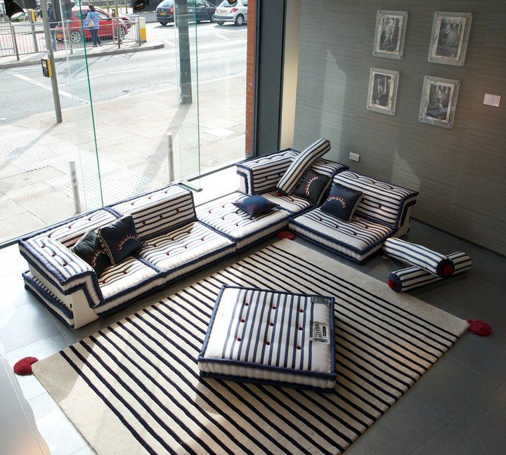 the mah jong sofa by roche bobois upholstered by jean. Black Bedroom Furniture Sets. Home Design Ideas