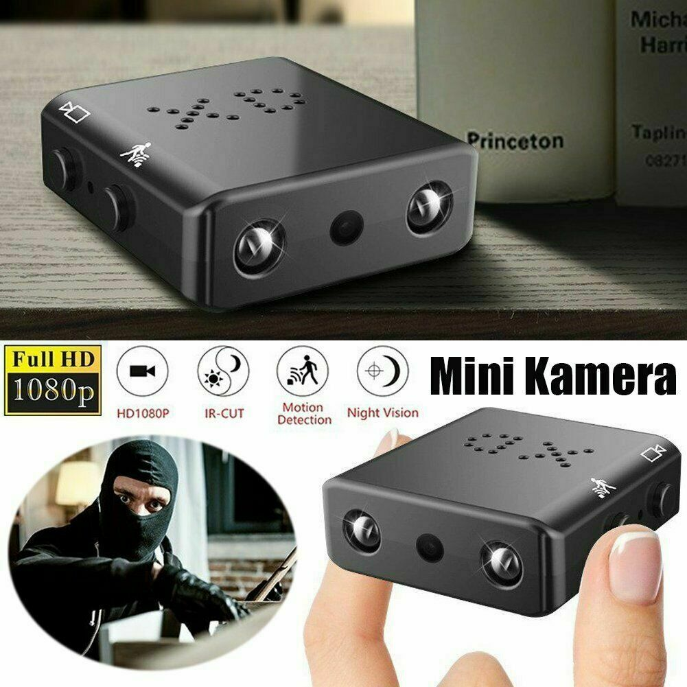 Mini Spion Kamera Wireless Wifi Home Security HD 1080P DVR Nachtsicht+32GB Karte