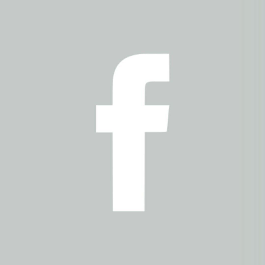 Light Grey Facebook App Icon App Icon Facebook Icons App Covers