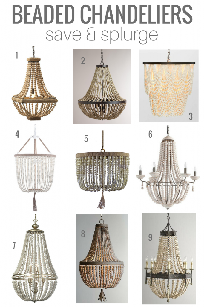 Beaded Chandeliers Save And Splurge Dining Room Fixtures Tips For Selecting The Perfect Light Fixture