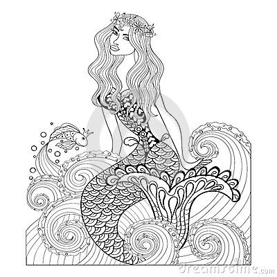 Serendipity Adult Coloring Pages Printable - Max Coloring