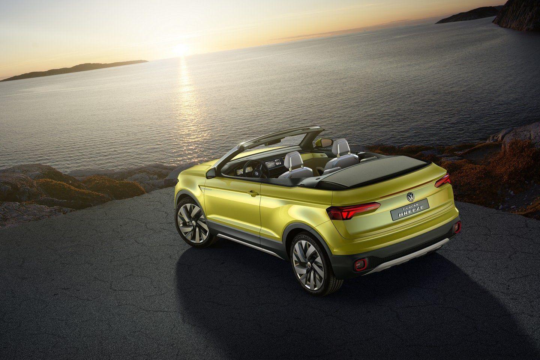 Volkswagen T-Cross Breeze is gewoon 2-deurs Polo SUV Cabriolet