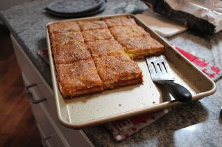 Dinner with the Grobmyers: Antipasto Squares #antipastosquares