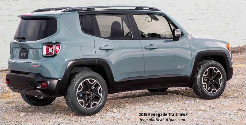 Jeep Renegade Trailhawk Jeeps Pinterest