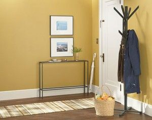 Slim Steel Table - Get the most out of those narrow spaces! (Blog: Creating a Welcoming Entryway)