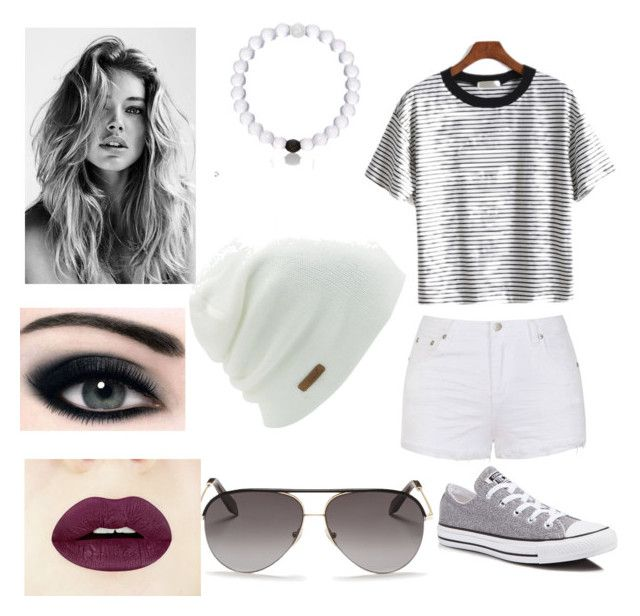 """""""Dark Summertime"""" by sutton-button on Polyvore featuring Ally Fashion, Converse, Coal and Victoria Beckham"""