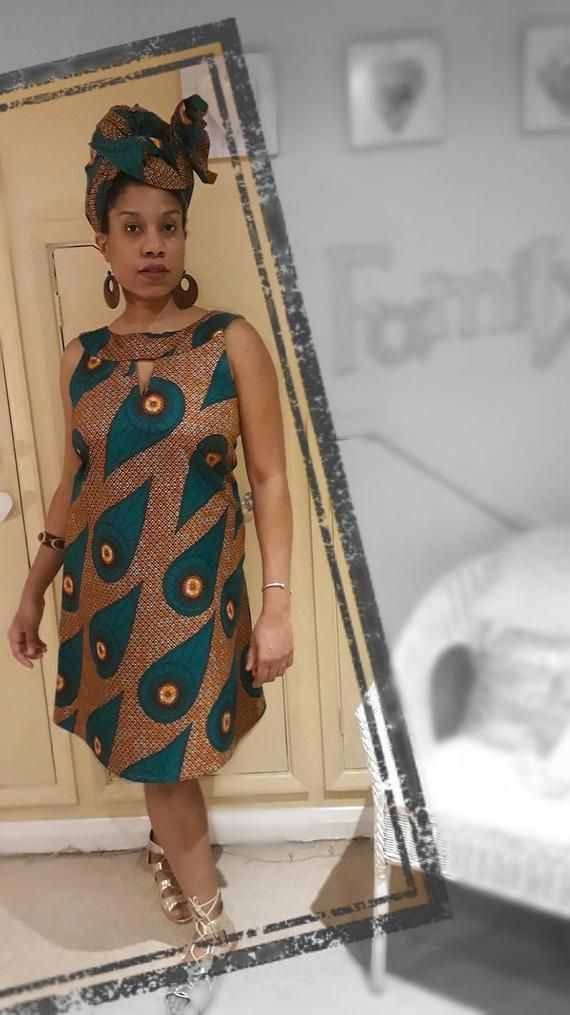 African Dress African Print Dress Ankara Dress Summer Dress Sleeveless Dress Ankara Dress Kente Dress Womens African Dress Womens Dress