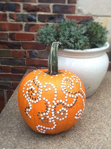Thumbtack Halloween Pumpkin Mon Reve Designs