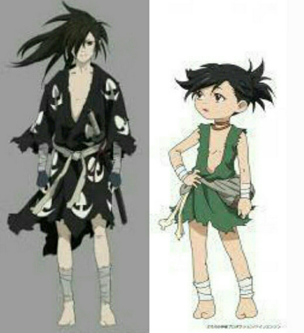"""Dororo"" 2019 Anime.tv Characters"