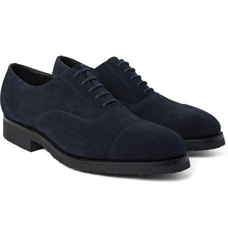 300 Suede Oxford Shoes   J.M. Weston
