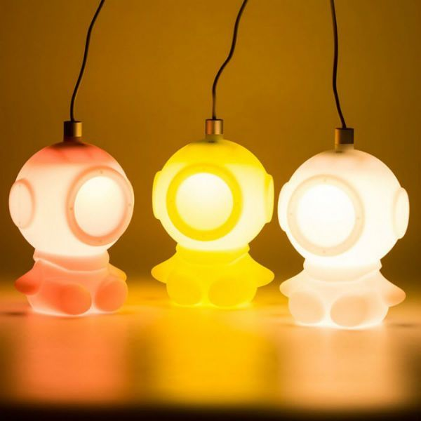 Light Diver night light by Abel Partners & Light Diver night light by Abel Partners | Lighting | Pinterest