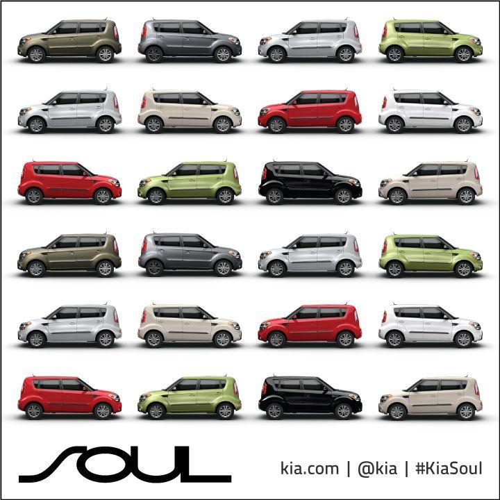 which color do you choose kia kiasoul cars kia soul kia mode of transport pinterest