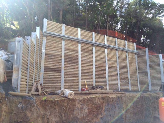 Cll Unilog I Beam Retaining Wall Muro De Contencion Muros