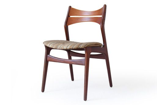 Erik Buck Chairs How Do You Cane A Chair 310 Christiansen Teak Dining Mcm Furniture