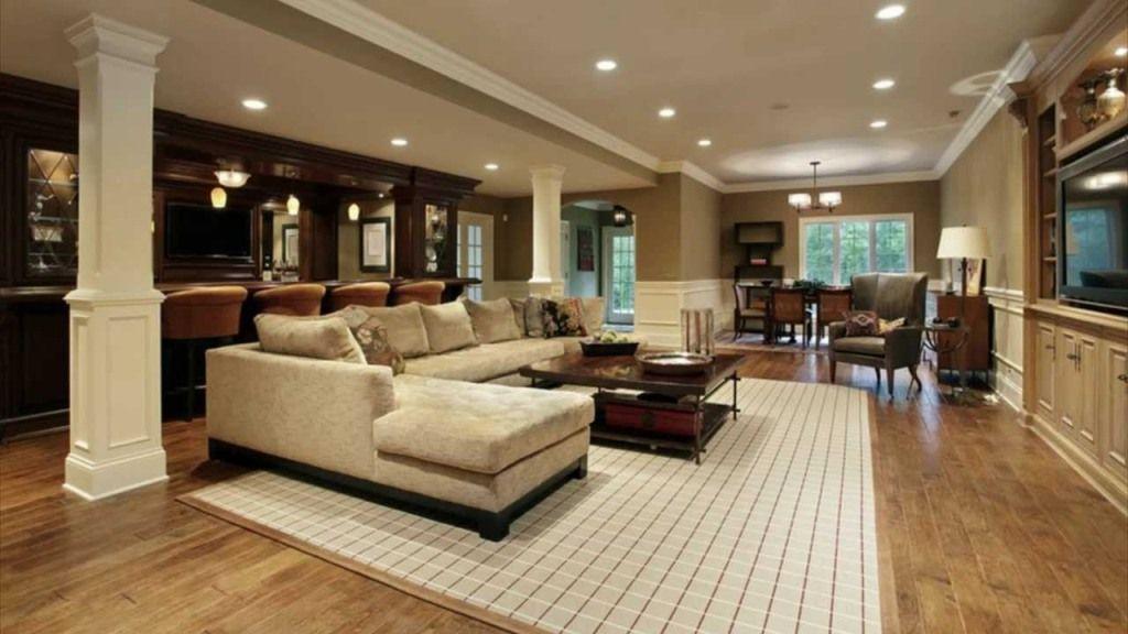 Image Of Walkout Basement Ideas Photos Luxury Living Room