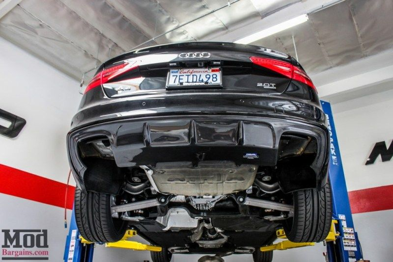 Audi B8 A4 2 0t Awe Exhaust Carbon Diffuser Modauto Audi Exhausted Audi A4